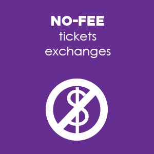 No-Fee Ticket Exchanges