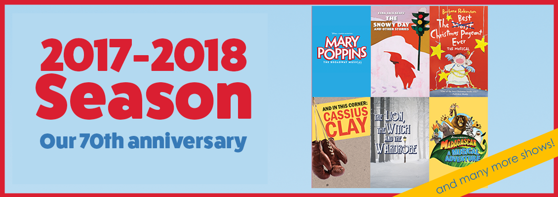 2017-2018: Our 70th Anniversary Season