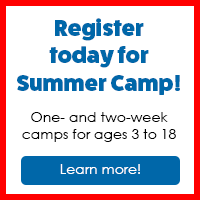 Register today for Summer Camps!